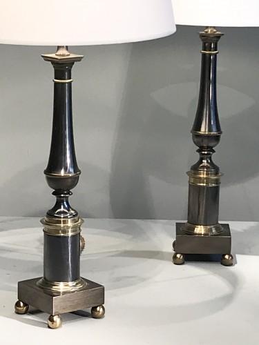 Pair of metal lamps - Lighting Style 50