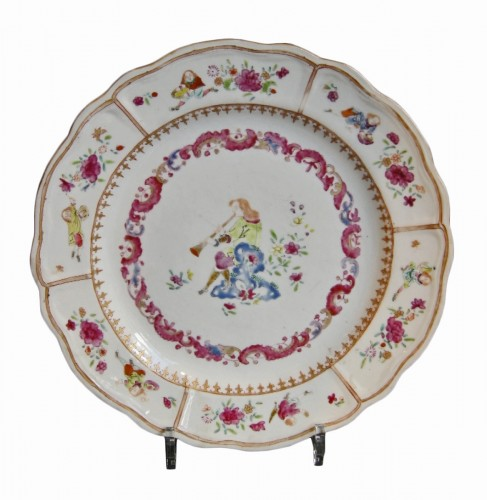 18th century Chinese export dish