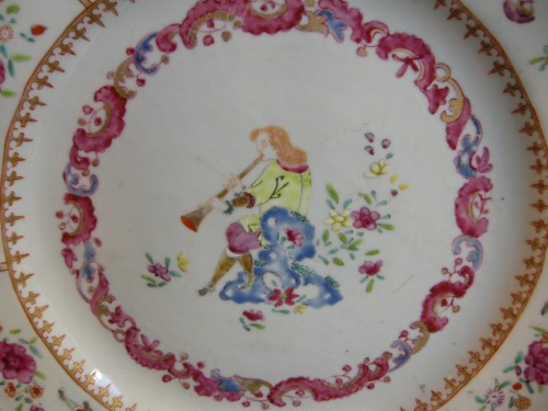 18th century Chinese export dish - Asian Art & Antiques Style