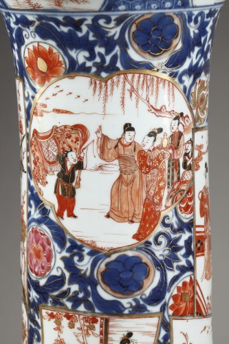 Asian Art & Antiques  - Large porcelain and Ormolu mount vase