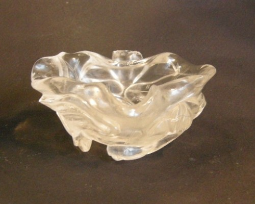 Asian Art & Antiques  - Brushwasher ( for the scholar ) rock Crystal sculpted - 19° century