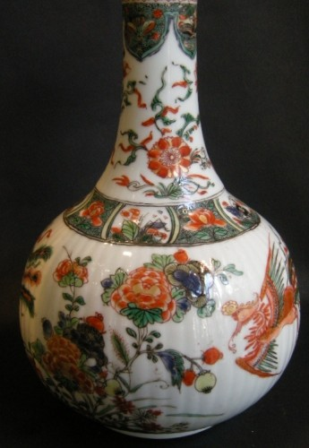 "Bottle ""famille verte"" porcelain - Asian Art & Antiques Style"