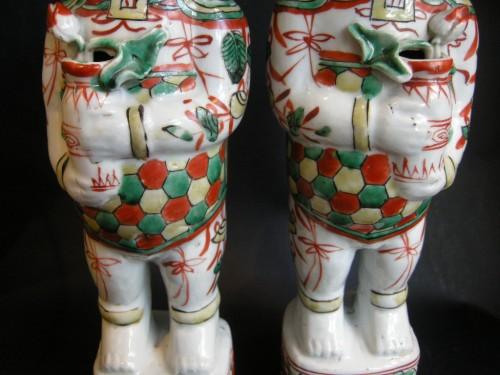 Pair of boys (Hehe erxian)  - Epoque Kangxi (1662-1722) -