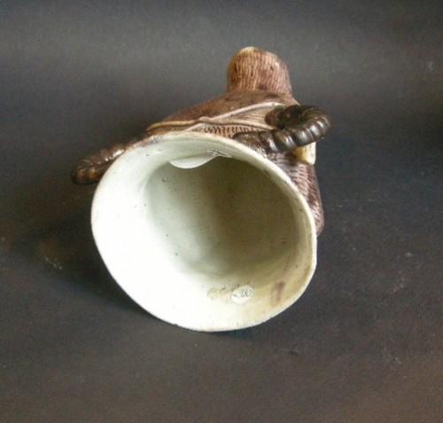 Asian Art & Antiques  - Beaker ( rython form) biscuit  - Kangxi 1662/1722