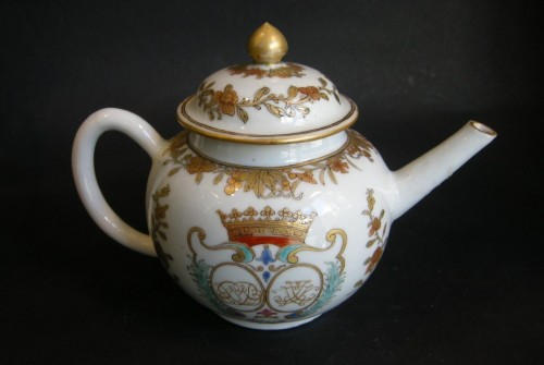 teapot porcelain chinese export - Circa 1742 - - Asian Art & Antiques Style