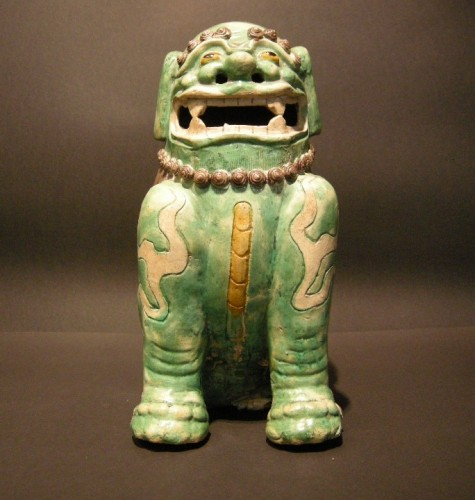 Asian Art & Antiques  - Important Fo dog biscuit  - Kangxi period 1662/1722