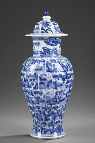"Asian Art & Antiques  - Porcelain vase ""Blue and White ""  Kangxi period 1662/1722"
