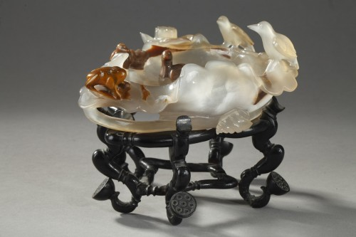 19th century - brush washer agate - about 1900 -