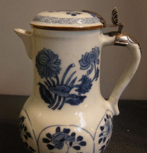 "Porcelain ewer ""Blue and White ""  Kangxi period 1662/1722 - Asian Art & Antiques Style"