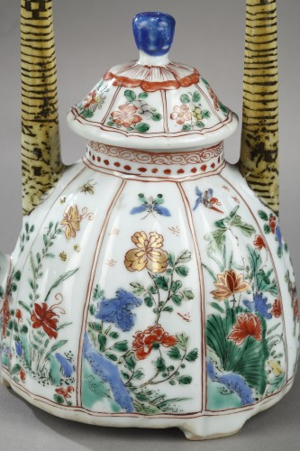"Wine pot ""Famille verte"" porcelain - Kangxi 1662/1722 - Asian Art & Antiques Style"