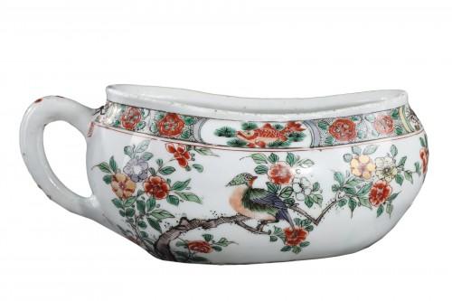 """Bourdaloue Porcelain """"Famille verte"""" Kangxi 1662/1722"""