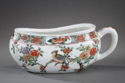 "Asian Art & Antiques  - Bourdaloue Porcelain ""Famille verte"" Kangxi 1662/1722"