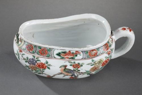"""Bourdaloue Porcelain """"Famille verte"""" Kangxi 1662/1722 -"""