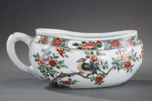 "17th century - Bourdaloue Porcelain ""Famille verte"" Kangxi 1662/1722"