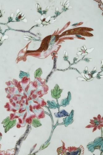 "Rare presentation tray  ""Famille rose porcelain"" - Yongzheng 1723/1735 -"