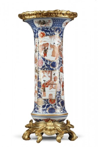 large vase Chinese porcelain  -late Kangxi early Yongzheng -1720/1725 -