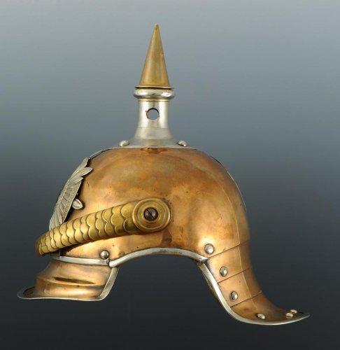 """Antiquités - Helmet Troop 4th Squadron Du Du Corazzieri De La Garde """"guard Kürassier - R"""