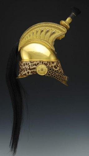 19th century - Dragons Of Officer helmet model 1845 From July Monarchy-second Empire