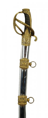 Saber of a superior officer of light cavalry, to the berry weapons, first restoration