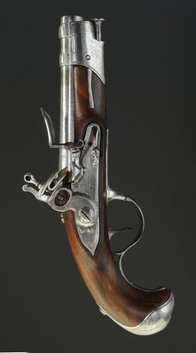 Flintlock Pistol of gendarmerie officer, model 1770, former monarchy