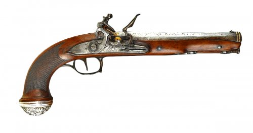 "Gun of general officer signed ""boutet"", type an xii, 1st empire"