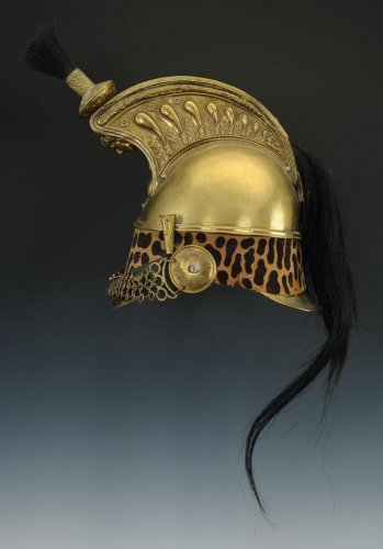 Dragon helmet, model 1845 modified 1858, second empire