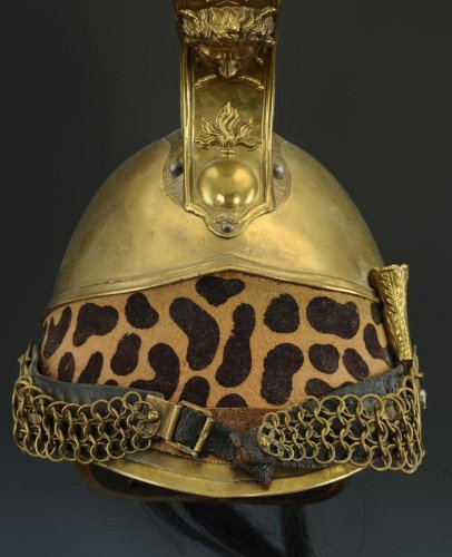 Collections Militaria - Casque de dragon, modèle 1845 modifié 1858, second empire