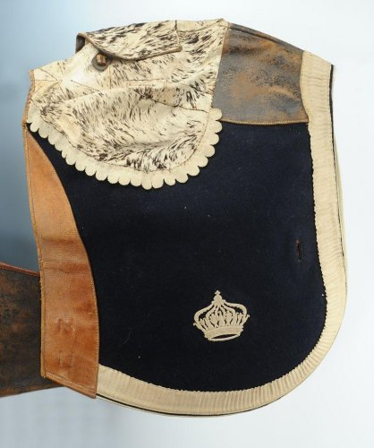 Antiquités - Schabraque Of the 1st Regiment Of Cuirassiers Of Imperial Guard, Second Empire