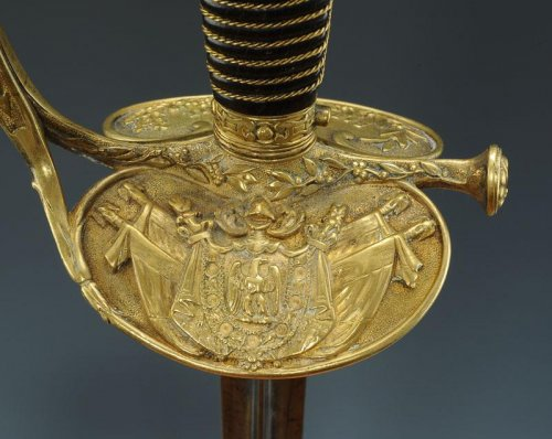 SWORD OF IMPERIAL GUARD, MODEL 1860, FOURREAU SECOND MODEL, SECOND EMPIRE - Napoléon III
