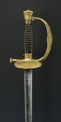 Napoléon III - SWORD OF IMPERIAL GUARD, MODEL 1860, FOURREAU SECOND MODEL, SECOND EMPIRE