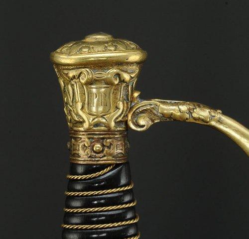 Antiquités - SWORD OF IMPERIAL GUARD, MODEL 1860, FOURREAU SECOND MODEL, SECOND EMPIRE