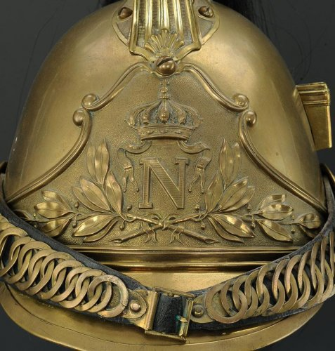 "Collectibles  - Helmet Dragons Of The Imperial Guard, Model 1856, Says ""Dragons Of The Impe"
