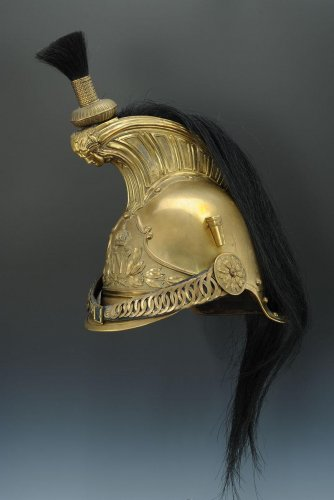 "19th century - Helmet Dragons Of The Imperial Guard, Model 1856, Says ""Dragons Of The Impe"
