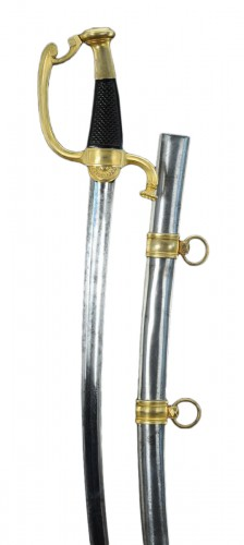 Luxury Saber By Boutet At Versailles, Having Owned Pierre-louis Harigeaud