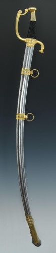 Luxury Saber By Boutet At Versailles, Having Owned Pierre-louis Harigeaud - Collectibles Style Empire