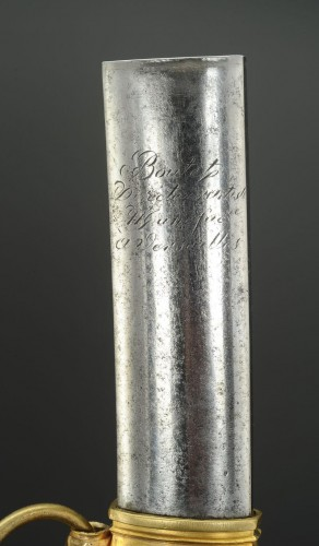 19th century - Luxury Saber By Boutet At Versailles, Having Owned Pierre-louis Harigeaud