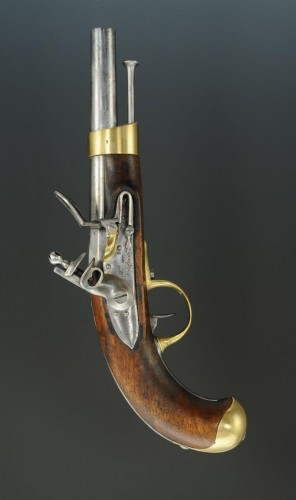 Empire - Cavalry Pistol, Model XIII Year, Of The Imperial Manufacture Of Saint-Éti