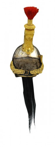Casque d'officier de cuirassier, modèle 1858, Second Empire