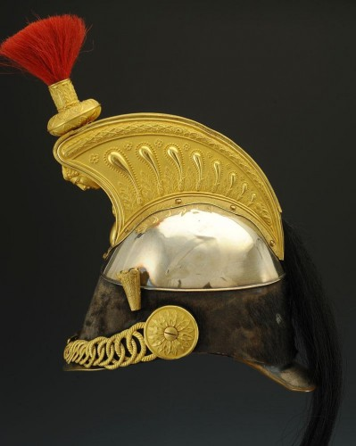 Collectibles  - Cuirassier Officer's Helmet, Model 1858, Second Empire