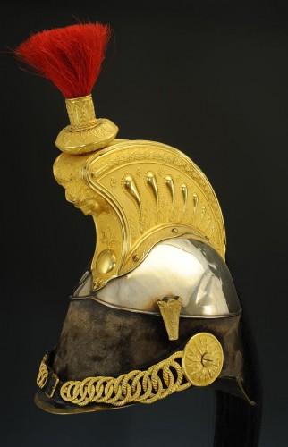 Cuirassier Officer's Helmet, Model 1858, Second Empire -