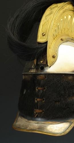 19th century - Cuirassier Officer's Helmet, Model 1858, Second Empire