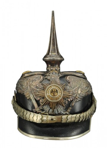 Head Helmet General Of The King Suite, Model 1871/1899, Second Reich