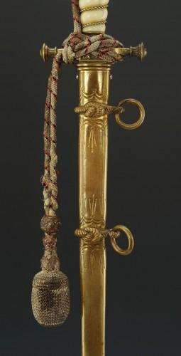 Korvetten Kapitän Ottmar Von Wachter Dagger from the german Imperial Navy,  - Collectibles Style Art nouveau