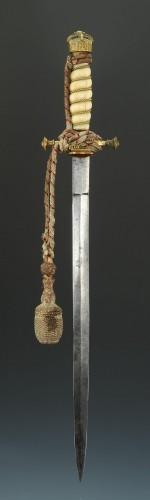 Art nouveau - Korvetten Kapitän Ottmar Von Wachter Dagger from the german Imperial Navy,