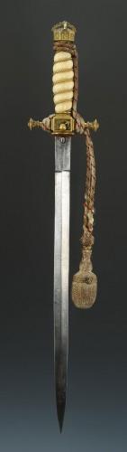 Antiquités - Korvetten Kapitän Ottmar Von Wachter Dagger from the german Imperial Navy,