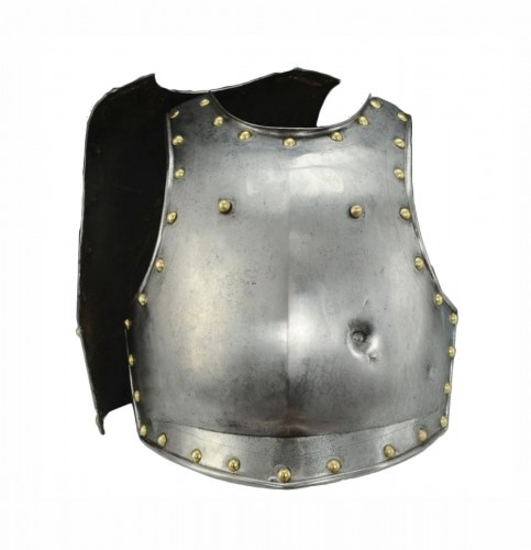 Cuirasse d'officier de cuirassiers second type, 1er Empire