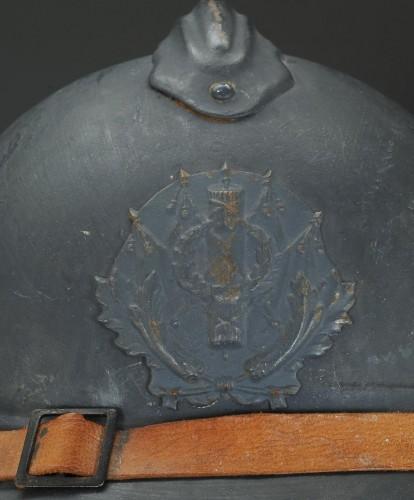 Collectibles  - Casque adrian de l'intendance, modèle 1915, Première Guerre Mondiale.