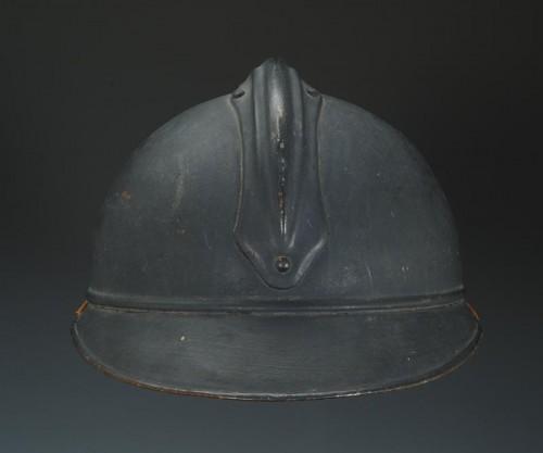 Casque adrian de l'intendance, modèle 1915, Première Guerre Mondiale. - Art nouveau