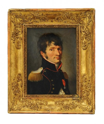 Louis-Léopold BOILLY (1761-1845) - Portrait du major du génie Étienne-Louis Malus