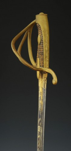 Empire - Sabre d'officier de cavalerie légère, premier empire